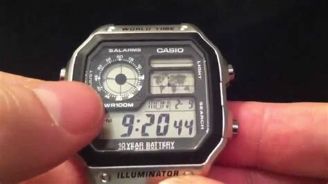 Casio Ae1200 Wd casio ae 1200 whd 1avef world time