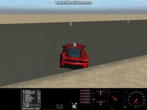 Ferrari 4 T Rig by Rigs Of Rods Testing The 2007 Ferrari 430 Scuderia Youtube