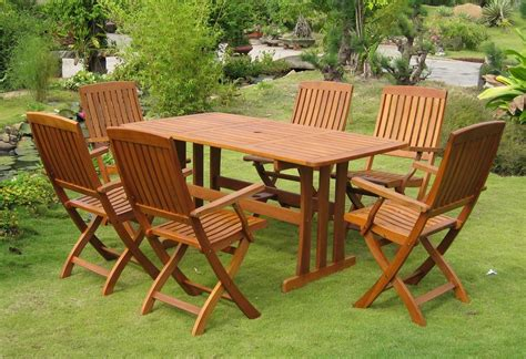 wooden garden table and bench set folding wooden garden table and chairs for beautiful
