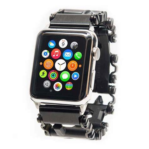Leatherman TreadLinks Watch Adapter Makes Tread Bracelet Multi Tool Work with Your Apple Watch