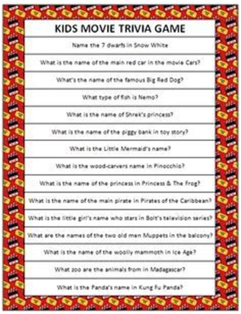 film quiz categories quot tv show kids quot trivia baby shower game word document i