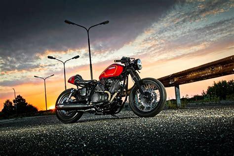 Yamaha Motorrad Ps by Umgebautes Motorrad Yamaha Xv 950 Von Ws Motorradtechnik