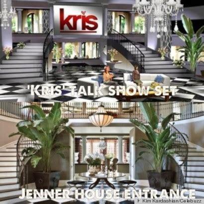 kris jenner foyer kris jenner s new talk show set looks exactly like