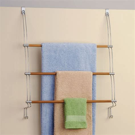 Towel Door Rack by Door Towel Image Of Diy The Door Towel Rack