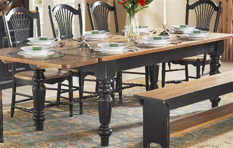 Farmhouse Desk by Country Farm Table Country Dining Table