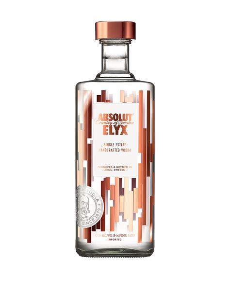 Handcrafted Vodka - absolut elyx single estate handcrafted vodka 1l