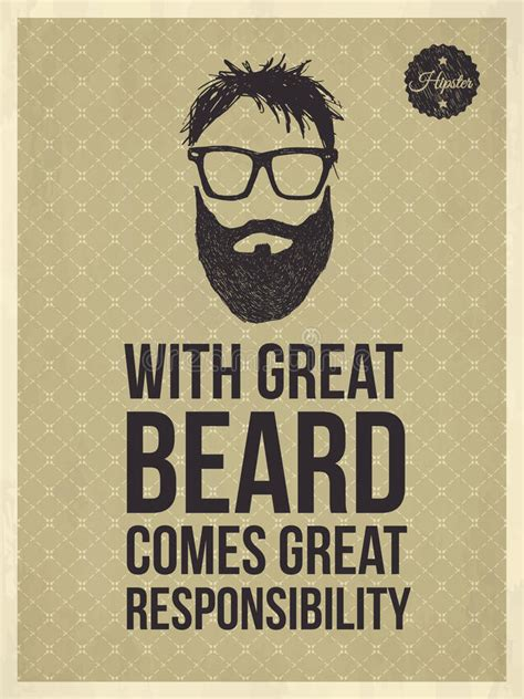 Poster Beard Barbershop Quotes Skull 1 quotes with great beard comes great