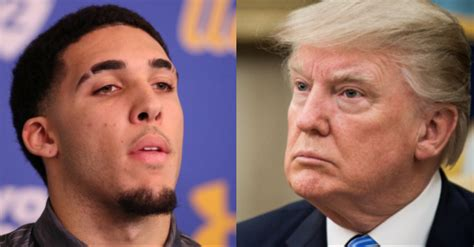 donald trump liangelo ball liangelo ball ucla forced me to thank trump after release
