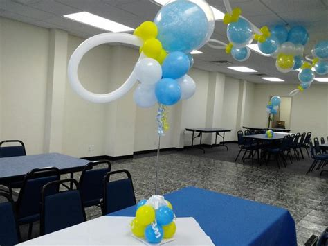 Balloon Arch Baby Shower by 33 Fantastic Baby Shower Centerpiece Ideas Table