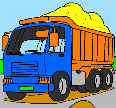 Dessin De Camion 224 Benne Colorie Par Membre Non Inscrit Le