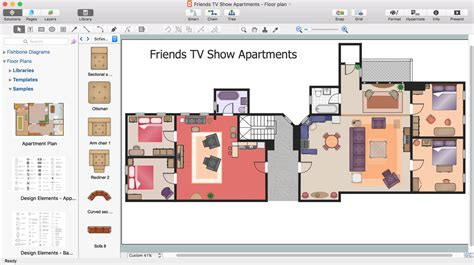 Floor Plan Drawing Software For Mac by Diagram Software And Drawing Tool Conceptdraw