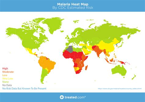 malaria map our malaria world map of estimated risk
