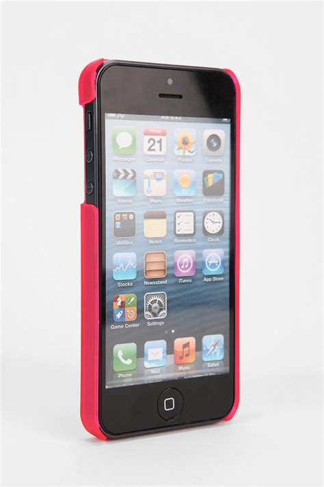 lyst urban outfitters puma  iphone  case  pink