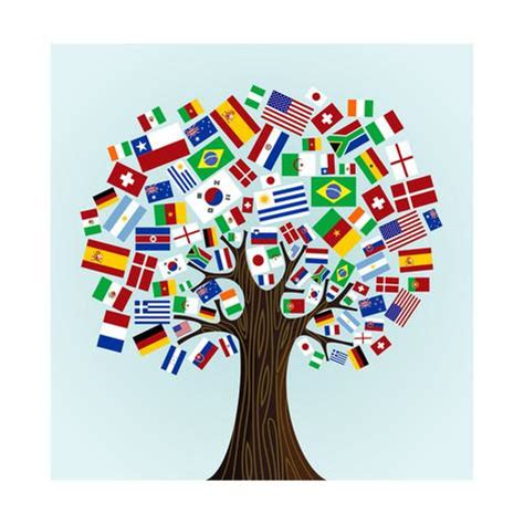 free printable flags of the world poster flags of the world tree posters by cienpies at allposters com
