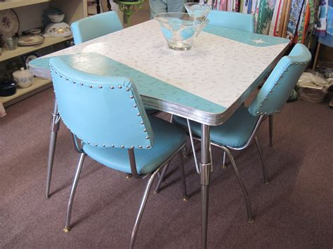 1950s Kitchen Tables Retro Vintage Formica Table And Chairs Fabfindsblog