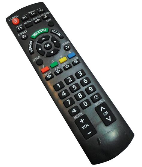 Remote Tv Led Panasonic buy india electronics remote used for panasonic lcd or led tv rm 1020m at best price in