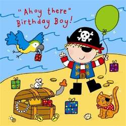 ahoy there boys birthday card 163 2 40 a great range of ahoy there boys birthday card from