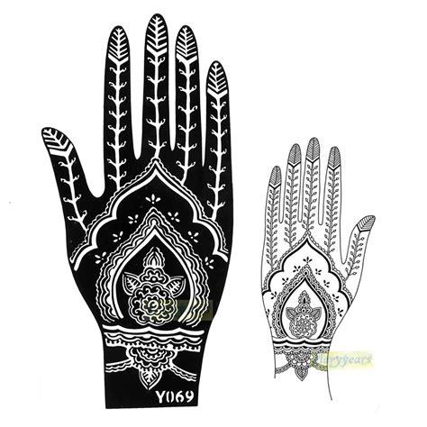 henna tattoo anleitung 29 henna muster schablone makedes