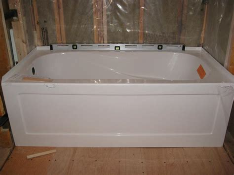 how to install a bathtub measurements of a bathtub installation useful reviews of