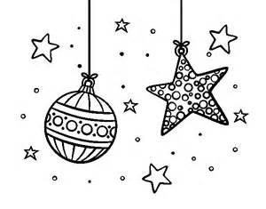 Dibujo de adornos de navidad para colorear dibujos net