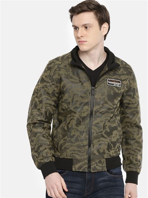 indian garage  green quilted bomber jacket buy