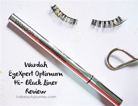 Harga Wardah Optimum Black Liner review wardah eyexpert optimum hi black liner review