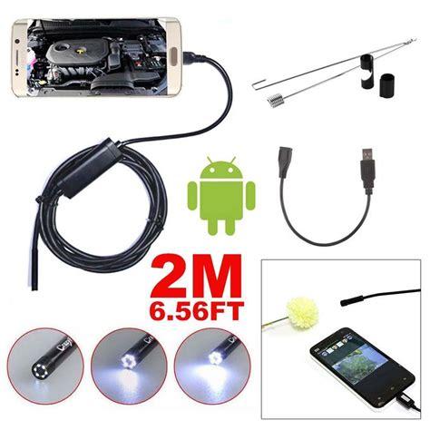 borescope inspection report template 2m 7mm mini waterproof led usb endoscope borescope snake