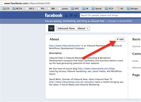 link to section of page the single most important thing for your facebook business