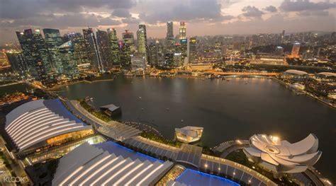 Tiket Sky Park Singapore marina bay sands skypark observation deck klook