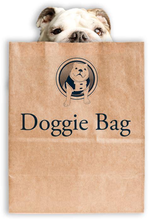 doggie bag butler blue