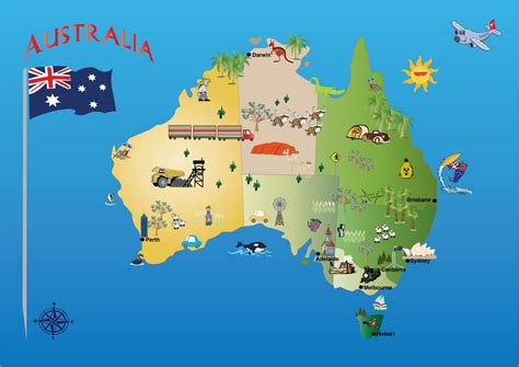 a map of australia map of australia commonwealth of australia maps mapsof net