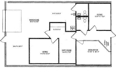 warehouse floor plans free warehouse office floor plans