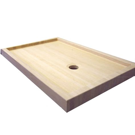 doccia legno piatto doccia rettangolare in legno