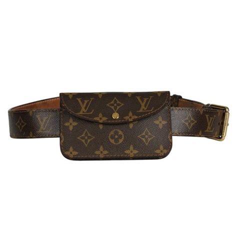 louis vuitton bumbag monogram lv logo fanny pack belt