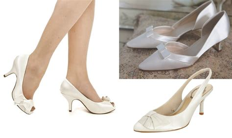wedding shoes small heel kitten heels for brides wedding dilemma from the wol forums weddingsonline