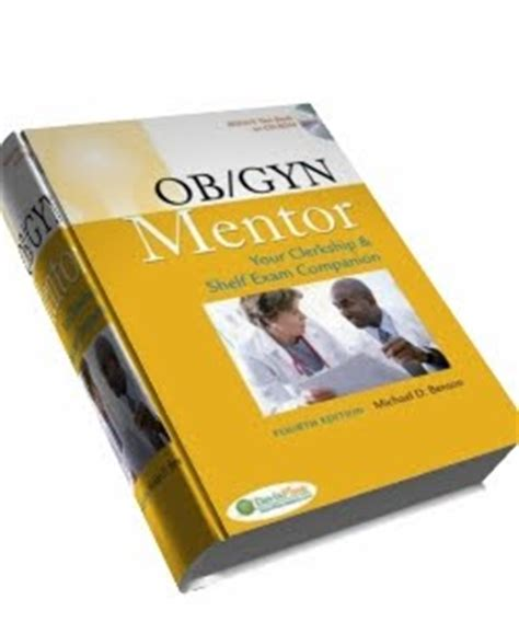ebook ob gyn mentor your clerkship and shelf
