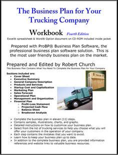 business plan template for trucking company key performance indicators learnist goalsetting and