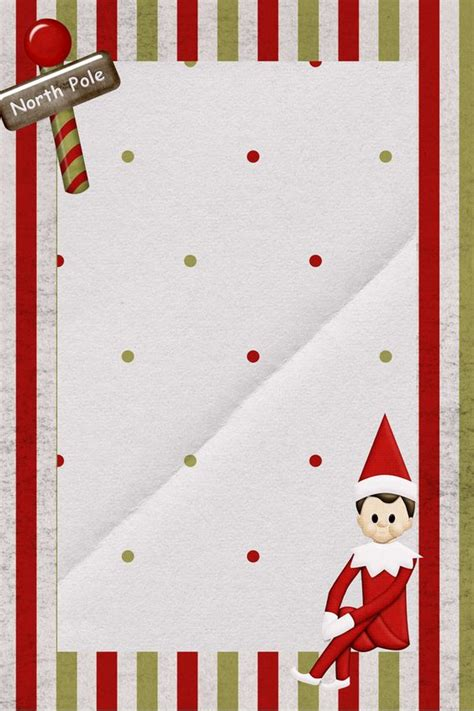 printable paper elf elves elf on the shelf and on the shelf on pinterest
