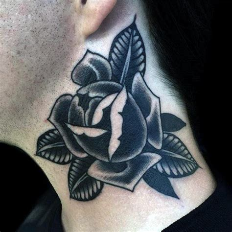 black and grey shaded rose tattoos 100 american traditional tattoos for school designs