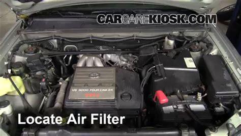 2000 Lexus Rx300 Engine by Air Filter How To 1999 2003 Lexus Rx300 2000 Lexus