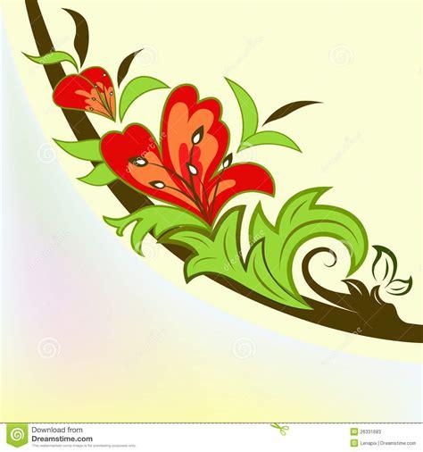 colorful flower design colorful floral design element stock photos image 26331683