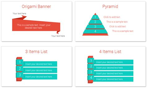 Information About Origami - origami infographics for powerpoint presentationdeck