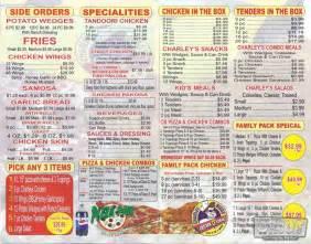 Pizza pan charley biggs menu pegout com