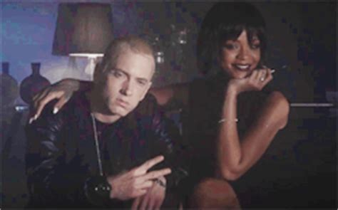 eminem kworb gif rihanna behind the scenes where have you been