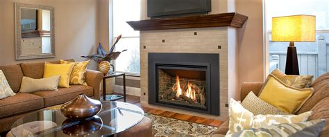 With Fireplace by Rochester Fireplace Gas Wood Inserts Fireplaces And