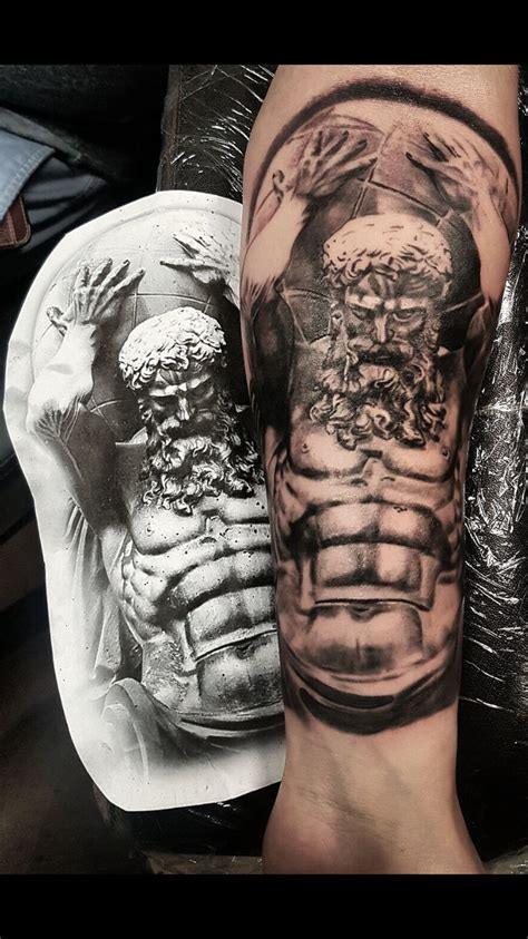 atlas tattoo design best 20 atlas ideas on