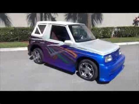 custom 1991 geo traker 561436 3131 for sale youtube