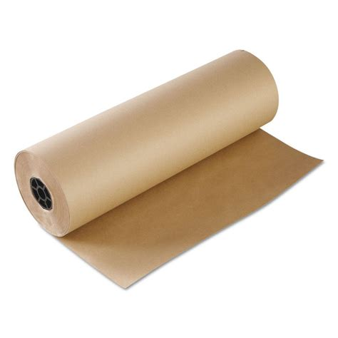 Brown Craft Paper Rolls - boardwalk kraft butcher paper roll bwkk2440765 ebay