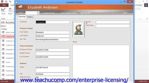 ms access employee database template microsoft office access tutorial 2013 databases 1 3