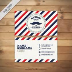 vintage moustache barber shop card vector premium download